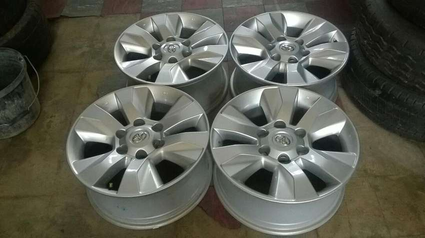 "17"" Toyota mags and tyres 0"