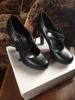 Туфли чёрные, 36 размер.