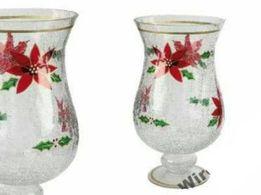 Boże Narodzenie Carmani Świecznik / wazon CARMANI na prezent.