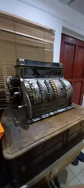 1911 antique National cash register Till