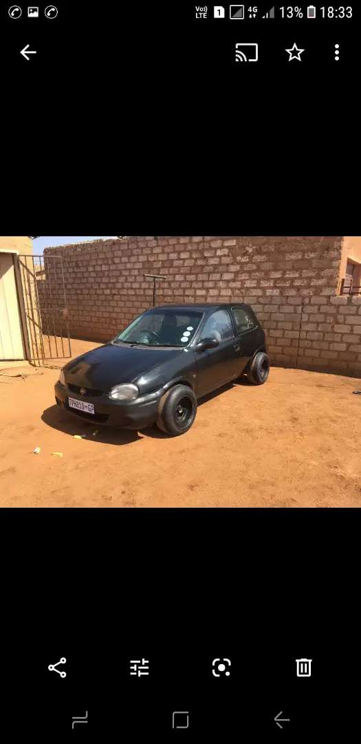 Selling an opel corsa lite 27000 swaps also welcome 0