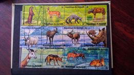 Коллекционные марки республики Бурунди