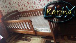 Односпальная кровать детская - подростковая из дерева в наличии