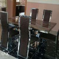 Executive dining table for 6setter 0