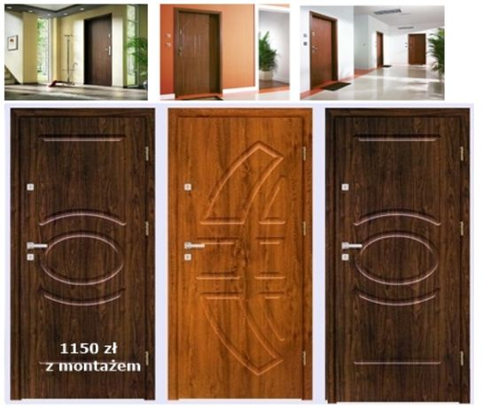Drzwi zewnętrzne wejściowe do mieszkań w bloku z MONTAŻEM, Kraków - image 2