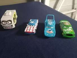 4 Disney Pixar cars