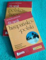 J . hiszpański 2 słowniki: polsko-hiszpański i hiszpańsko-polski