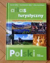 Atlas turystyczny najpiękniejsze trasy rowerowe Polski twarda oprawa