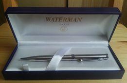 Etui WATERMAN + długopis stal szczotkowana, zestaw prezentowy