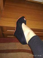Туфли босоножки на платформе