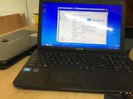 Toshiba celeron 1.8 GHz , 2GB ram , 500GB hdd , windows 8 , office
