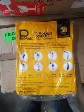 Promax coveralls type 5 and 6