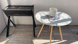 Braai with a table