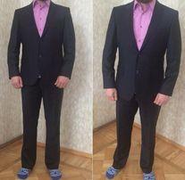 Шерстяной мужской костюм Mondigo 88 % тёплый костюм шерсть