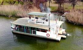 Modderrivier Express boat cruises, Beau vallon river estate