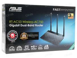 ASUS RT-AC53 Wireless-AC750 Gigabit Dual-Band Router