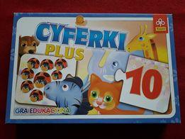 Gra edukacyjna puzzle Cyferki od 3 lat Trefl