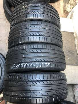 225/45/17 Continental Run Flat Tyres (With 90% Thread Life)