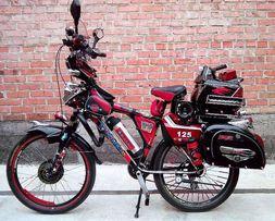 Электровелосипед (кастом) 500 ватт