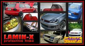 Lamin-X Tint Protective Film - Subtle tinted effect for front lighting