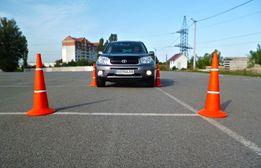 Частные уроки габаритного вождения (научим парковаться в городе)