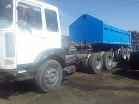 Man F80 horse and trailer