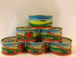 Икра красная лососевая Феникс, опт от 20шт, 140 грамм