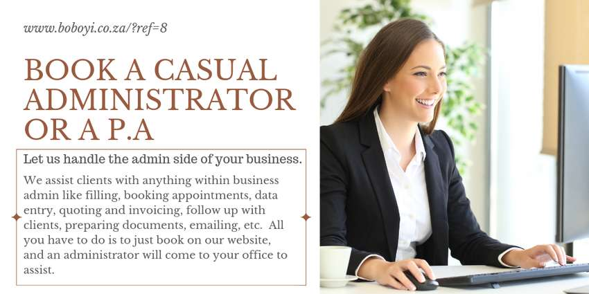 Hire a P.A or an Administrator for a day 0