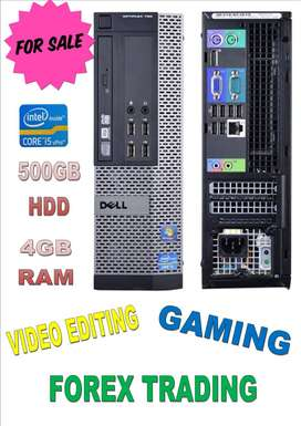Core i5 portable pc for video editing / forex trading / gaming