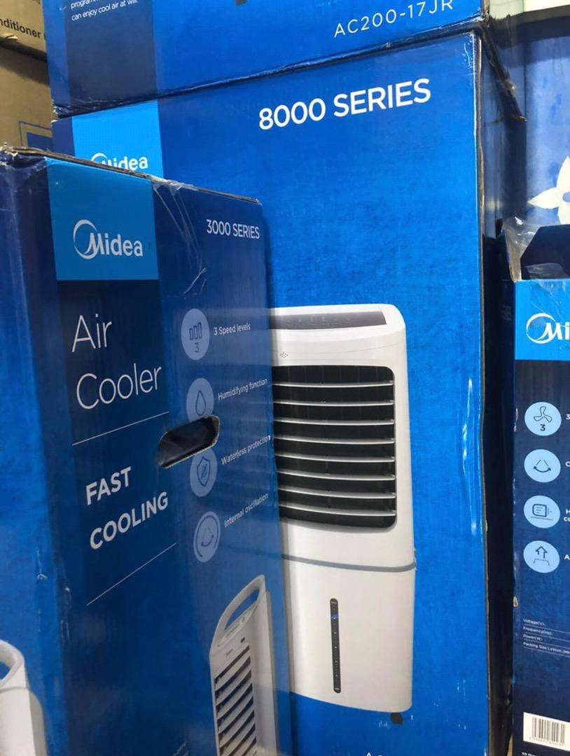 BRAND NEW MIDEA 8000 SERIES AIR COOLER,FAST COOLING- 0