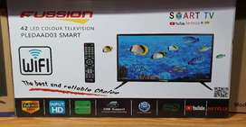 """Fussion TV  42"""" Smart with Hdmi Usb"""