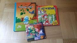 Książka z puzzlami, Smerfy Kot w butach książeczki zestaw