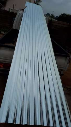 New corrugated roof sheets