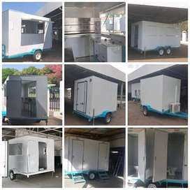 Trailers and cold rooms for sale