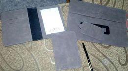 На подарок! Комплект чехлов на планшет+ ноутбук+ паспорт+блокнот+бирка