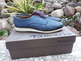 Pólbuty TAMARIS granat 39 buty niebieskie PROMOCJA