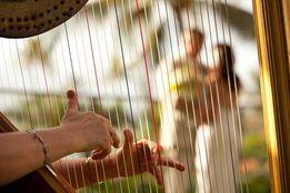 Арфотерапия, фоновая арфовая музыка