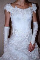 Продам Красивое свадебное платье своё !