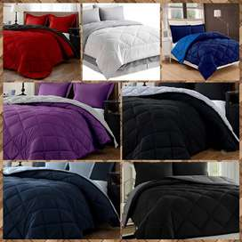 Quilted Reversible Comforter
