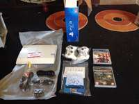 Image of New Playstation 3 and the second hand bioshock collecton