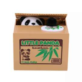 Piggy Bank Money For Kids Panda bear