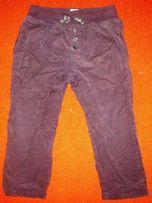 Вельветовые штаны на подкладке на 2-3 года zara baby