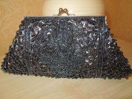Клатч- сумочка в пайетках и бисере