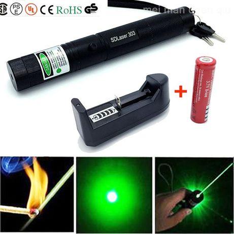 Лазерная указка зелёный лазер Laser 303 green с насадкой Одесса - изображение 4