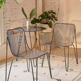 Patiochairs and tables. Coffeeshop furniture. Call House of chairs