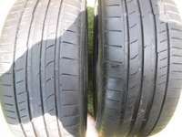 Image of 2xContinental ContiSportContact tyres 225/40/18,90 percent tread!!