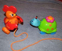 Заводная черепаха Ks Kids, петушок каталка Guaps
