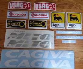 Cagiva Mito 125 decals stickers kits