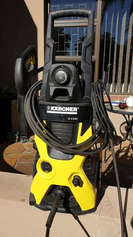 High pressure cleaner washer. Karcher K 4.640 with soap dispenser
