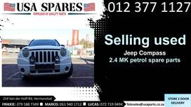 Jeep Compass 2.4 MK 2007-17 used spare parts for sale